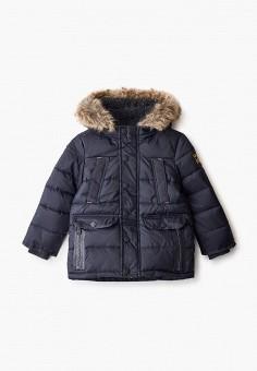 Куртка утепленная, Blukids, цвет: синий. Артикул: BL025EBGJHZ1. Мальчикам / Одежда / Верхняя одежда / Куртки и пуховики