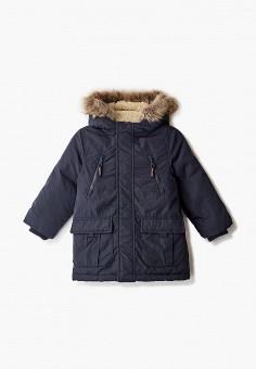 Пуховик, Blukids, цвет: синий. Артикул: BL025EBGJHZ9. Мальчикам / Одежда / Верхняя одежда / Куртки и пуховики