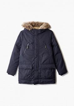 Пуховик, Blukids, цвет: синий. Артикул: BL025EBGJIA2. Мальчикам / Одежда / Верхняя одежда / Куртки и пуховики