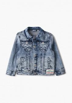 Куртка джинсовая, Blukids, цвет: голубой. Артикул: BL025EBHRPB4. Мальчикам / Одежда / Верхняя одежда