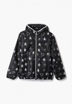 Куртка утепленная, Blukids, цвет: черный. Артикул: BL025EGHRGB1. Девочкам / Одежда / Верхняя одежда / Куртки и пуховики