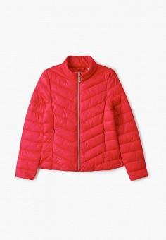 Куртка утепленная, Blukids, цвет: красный. Артикул: BL025EGHRGC4. Девочкам / Одежда / Верхняя одежда / Куртки и пуховики
