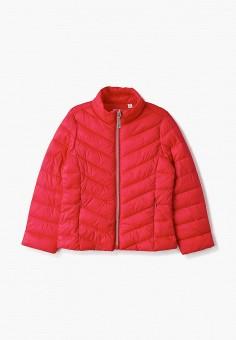 Куртка утепленная, Blukids, цвет: красный. Артикул: BL025EGHRGC8. Девочкам / Одежда / Верхняя одежда / Куртки и пуховики