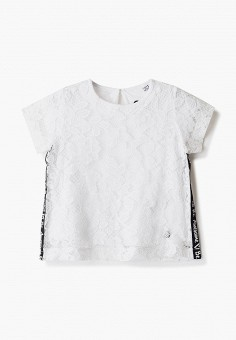 Блуза, Blukids, цвет: белый. Артикул: BL025EGHRGI2.