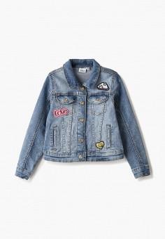 Куртка джинсовая, Blukids, цвет: голубой. Артикул: BL025EGHROY9.
