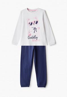 Пижама, Blukids, цвет: белый, синий. Артикул: BL025EGHRPK1.