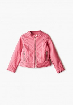 Куртка кожаная, Blukids, цвет: розовый. Артикул: BL025EGHRPQ9.