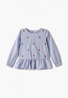 Блуза, Blukids, цвет: синий. Артикул: BL025EGIBFB6.