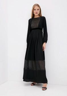 Платье, Blugirl Folies, цвет: черный. Артикул: BL031EWIRJT1. Premium