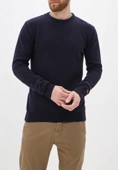 Джемпер, Blend, цвет: синий. Артикул: BL203EMGVUI1. Одежда / Джемперы, свитеры и кардиганы / Джемперы и пуловеры