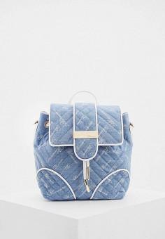 Рюкзак, Blumarine, цвет: голубой. Артикул: BL353BWHPIB8. Аксессуары / Рюкзаки