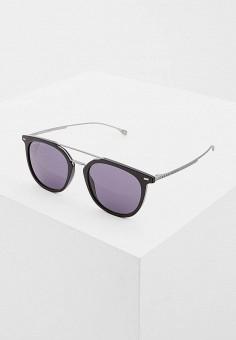 Очки солнцезащитные, Boss, цвет: черный. Артикул: BO010DMCWPF6. Аксессуары