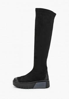 Ботфорты, Bona Dea, цвет: черный. Артикул: BO027AWKGBK5. Обувь / Сапоги