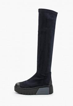 Ботфорты, Bona Dea, цвет: синий. Артикул: BO027AWKGBK7. Обувь / Сапоги / Ботфорты