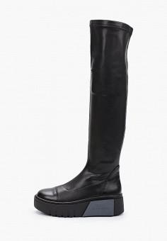 Ботфорты, Bona Dea, цвет: черный. Артикул: BO027AWKGBK8. Обувь / Сапоги / Ботфорты