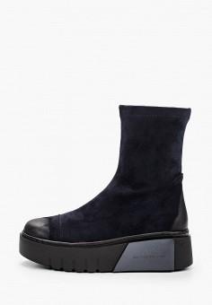 Полусапоги, Bona Dea, цвет: синий. Артикул: BO027AWKGBL0. Обувь / Сапоги