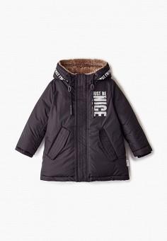 Куртка утепленная, Boom, цвет: черный. Артикул: BO051EBGPRF9. Мальчикам / Одежда / Верхняя одежда / Куртки и пуховики