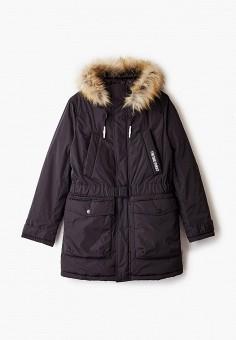 Парка, Boom, цвет: черный. Артикул: BO051EBGPRG1. Мальчикам / Одежда / Верхняя одежда / Куртки и пуховики