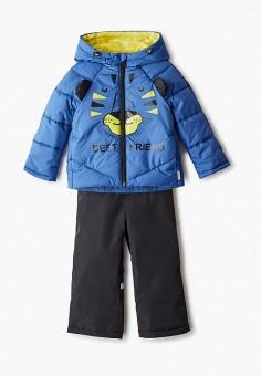 Костюм утепленный, Boom, цвет: синий, черный. Артикул: BO051EBIFZY9. Мальчикам / Одежда
