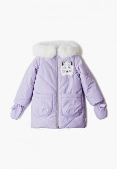 Куртка утепленная, Boom, цвет: фиолетовый. Артикул: BO051EGGPRD5. Девочкам / Одежда / Верхняя одежда / Куртки и пуховики