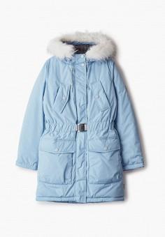Куртка утепленная, Boom, цвет: голубой. Артикул: BO051EGGPRD7. Девочкам / Одежда