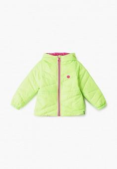 Куртка утепленная, Boom, цвет: зеленый. Артикул: BO051EGIFZX3. Девочкам / Одежда / Верхняя одежда / Куртки и пуховики