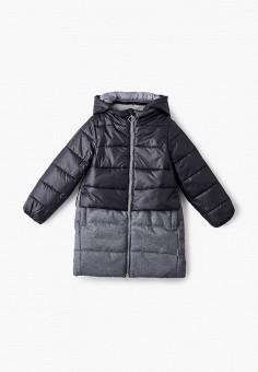 Куртка утепленная, Boom, цвет: черный. Артикул: BO051EGJVGH0. Девочкам / Одежда / Верхняя одежда / Куртки и пуховики