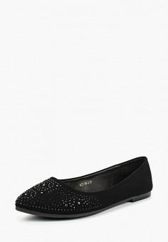 Балетки, Bona Mente, цвет: черный. Артикул: BO053AWCINA5. Обувь / Балетки