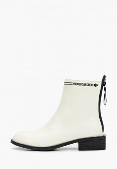 Ботинки, Bona Mente, цвет: белый. Артикул: BO053AWKCOR9. Обувь / Ботинки / Высокие ботинки
