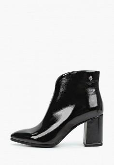 Ботильоны, Bona Mente, цвет: черный. Артикул: BO053AWKCOT3. Обувь
