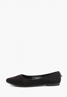 Балетки, Bona Mente, цвет: черный. Артикул: BO053AWKCOT6. Обувь / Балетки