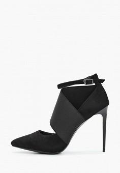 Туфли, Bona Mente, цвет: черный. Артикул: BO053AWKCOU0. Обувь / Туфли