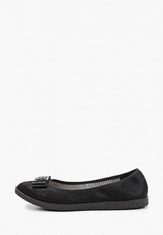 Балетки, Bona Mente, цвет: черный. Артикул: BO053AWKCOU1. Обувь / Балетки