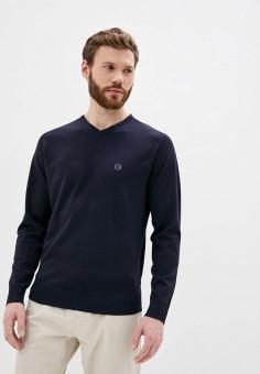 Пуловер, Boston, цвет: синий. Артикул: BO074EMJFBB6. Одежда / Джемперы, свитеры и кардиганы / Джемперы и пуловеры