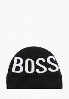 Шапка, Boss, цвет: черный. Артикул: BO246CBKGZZ3. Мальчикам / Аксессуары