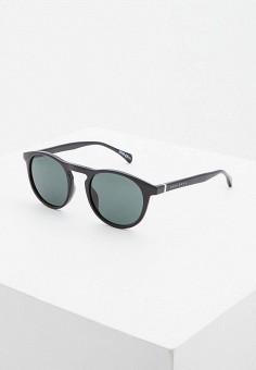 Очки солнцезащитные, Boss, цвет: черный. Артикул: BO246DMHBJA0. Аксессуары