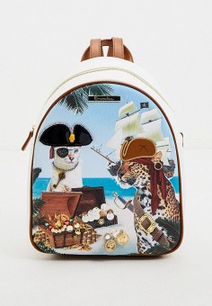 Рюкзак, Braccialini, цвет: мультиколор. Артикул: BR001BWHTHN8. Аксессуары / Рюкзаки