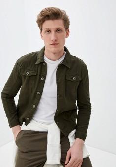 Куртка джинсовая, Brave Soul, цвет: хаки. Артикул: BR019EMILGC7. Одежда / Верхняя одежда / Джинсовые куртки