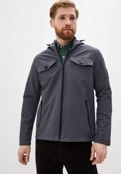 Куртка, Brave Soul, цвет: серый. Артикул: BR019EMILGD7. Одежда / Верхняя одежда / Легкие куртки и ветровки