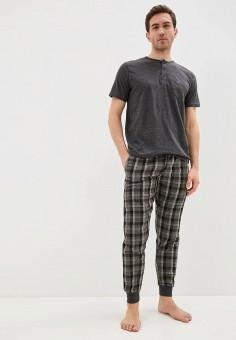 Комплект домашний, Brave Soul, цвет: серый. Артикул: BR019EMIXBU1. Одежда / Домашняя одежда