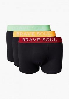 Комплект, Brave Soul, цвет: черный. Артикул: BR019EMJXDB1. Одежда / Нижнее белье