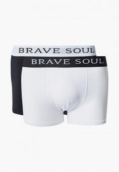 Комплект, Brave Soul, цвет: белый, черный. Артикул: BR019EMKCFI1. Одежда / Нижнее белье