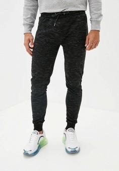 Брюки спортивные, Brave Soul, цвет: черный. Артикул: BR019EMKCFI6. Одежда / Брюки / Спортивные брюки
