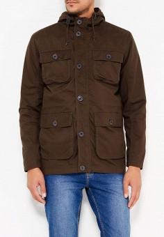 Куртка, Brave Soul, цвет: хаки. Артикул: BR019EMUMI82. Одежда / Верхняя одежда / Легкие куртки и ветровки