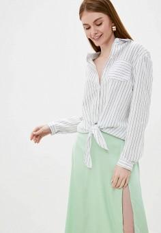 Блуза, Brave Soul, цвет: белый. Артикул: BR019EWIXFY9. Одежда / Блузы и рубашки