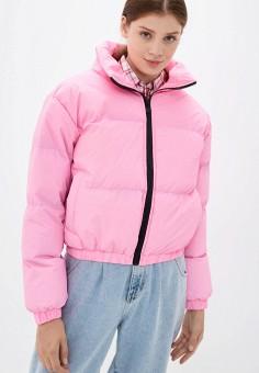 Куртка утепленная, Brave Soul, цвет: розовый. Артикул: BR019EWJXBH4. Одежда / Верхняя одежда