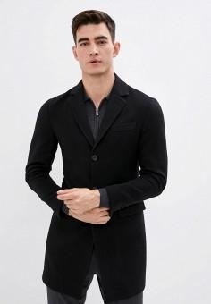 Полупальто, Brian Dales, цвет: черный. Артикул: BR049EMKFBP2. Одежда / Верхняя одежда / Пальто