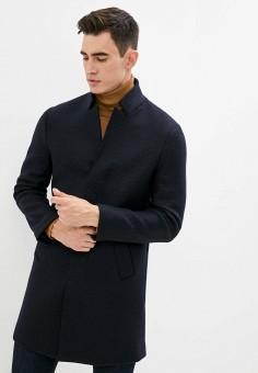 Пальто, Brian Dales, цвет: синий. Артикул: BR049EMKFBP3. Одежда / Верхняя одежда / Пальто