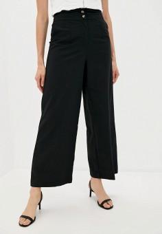 Брюки, B.Style, цвет: черный. Артикул: BS002EWJRUY8. Одежда / Брюки