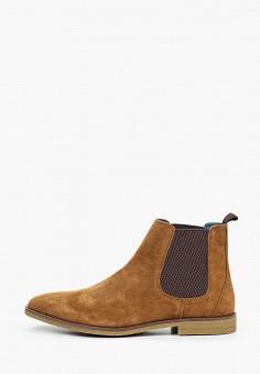 Ботинки, Burton Menswear London, цвет: коричневый. Артикул: BU014AMIHYQ7. Обувь / Ботинки
